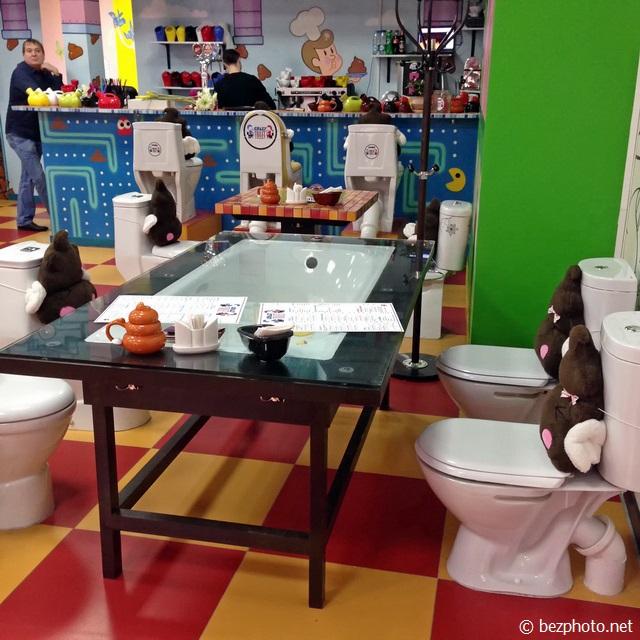 crazy toilet