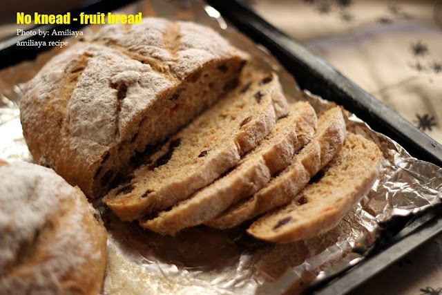 免揉 - 干果面包