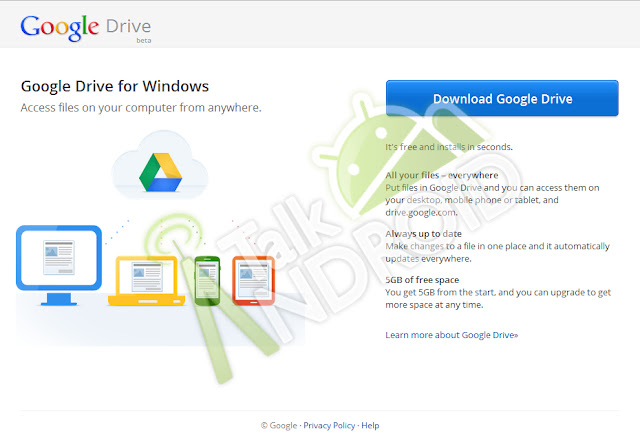 Google drive leaked screen shot