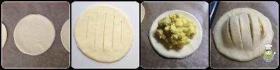 cómo preparar hojaldres salados de pollo con mascarpone y curry