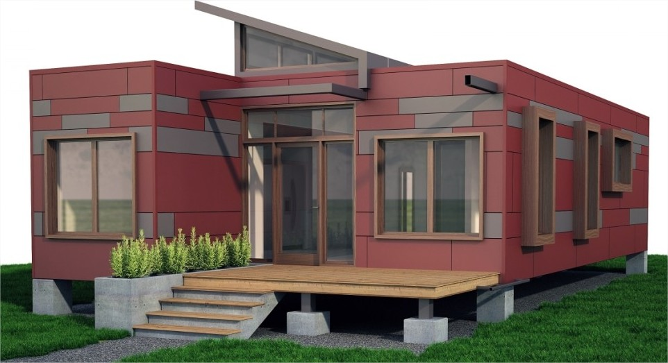 Tiny Home Made From Shipping Containers Container Home