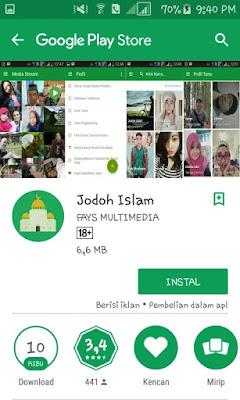 10 Aplikasi Untuk Mencari Jodoh Terpopuler dan Terbaik  di Android 2018/2019