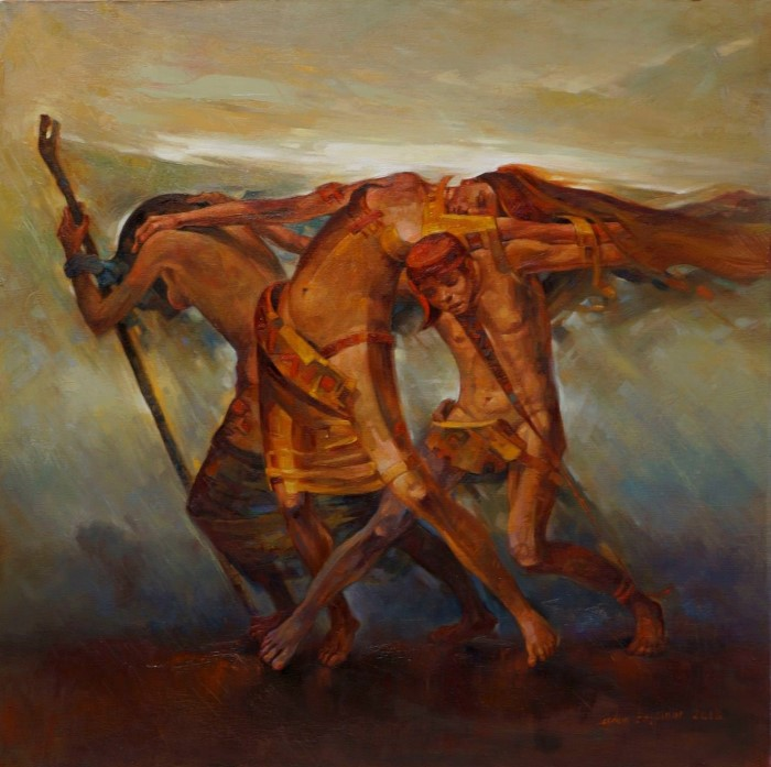Турецкий художник. Adem Baspinar