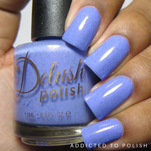 Delush Polish Tea Amor-etto High and Mightea spring collection swatches