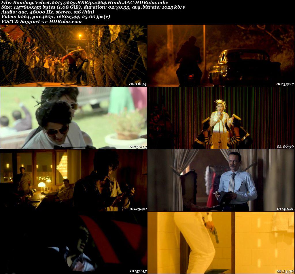 Bombay Velvet 2015 720p BRRip x264 Hindi Screenshot