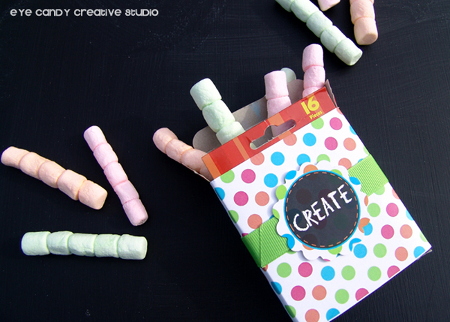 supplies to make edible chalk, fun food for art party, marshmallow chalk