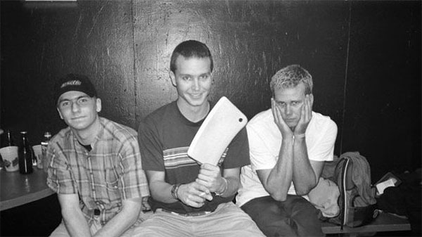 """blink-182 playing """"Josie"""",  """"Dammit"""", """"Untitled"""" and """"Mutt"""" @ Recovery (1998)"""