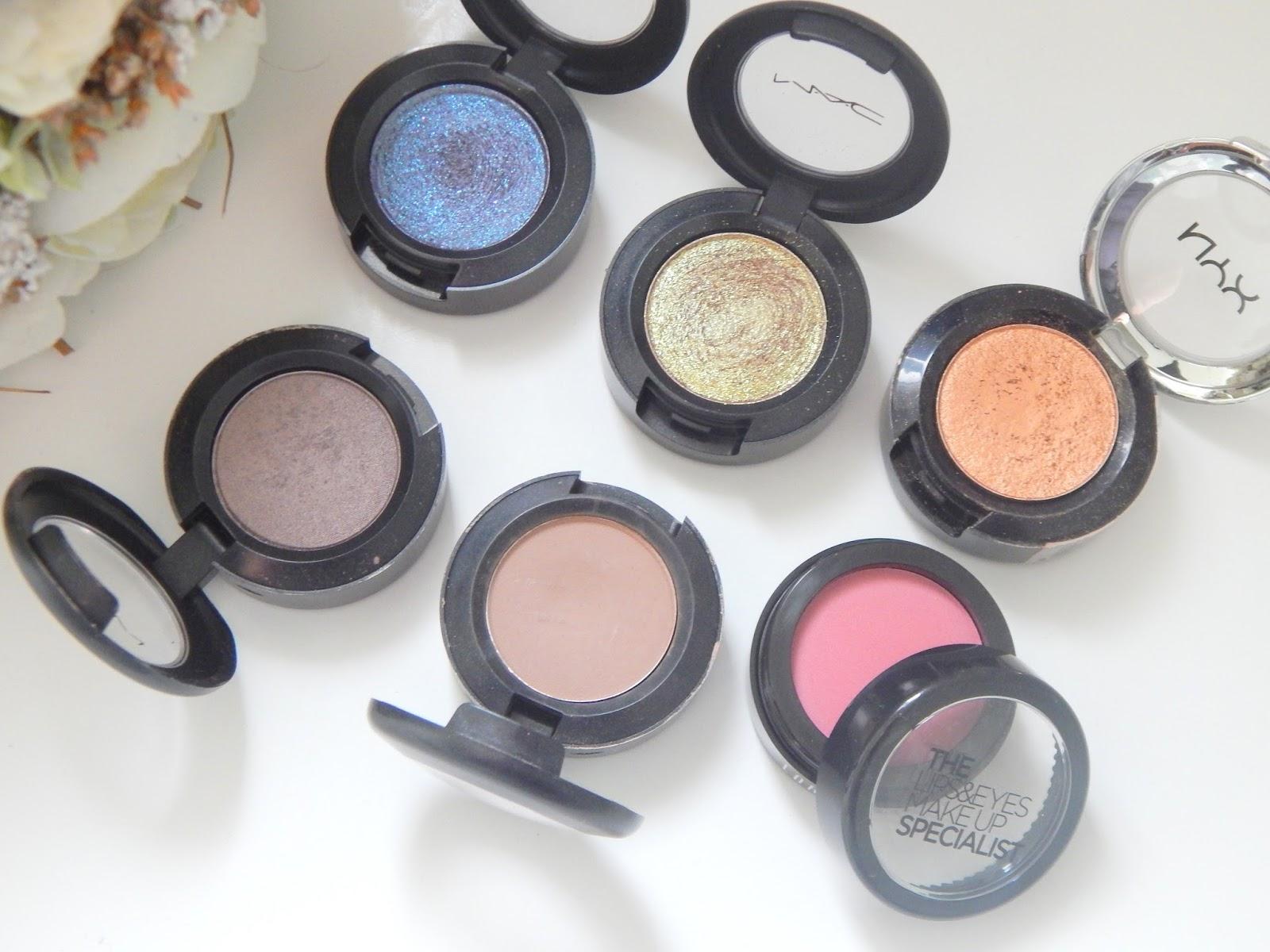 Inside The Makeup Drawers    Single Eyeshadows