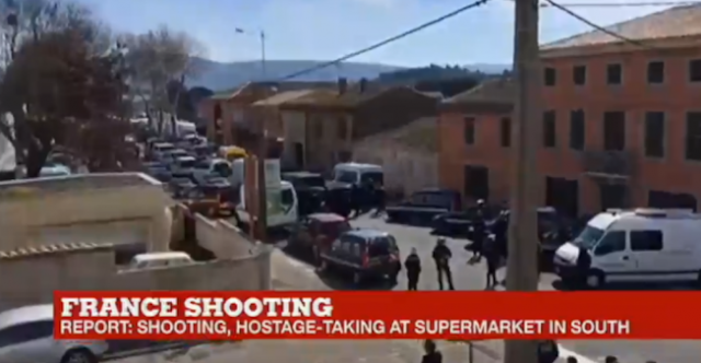 #BreakingNews,#TerrorismReport:  :Hostage taking and shooting at mall in southwest France .It's a terroristic attack !