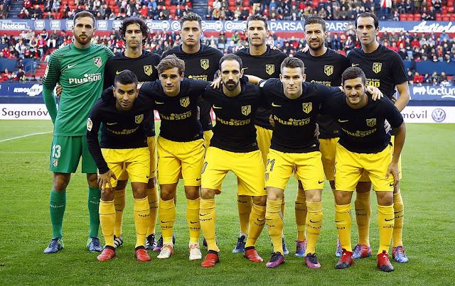 El Atlético vuelve a la victoria tras derrotar al Osasuna