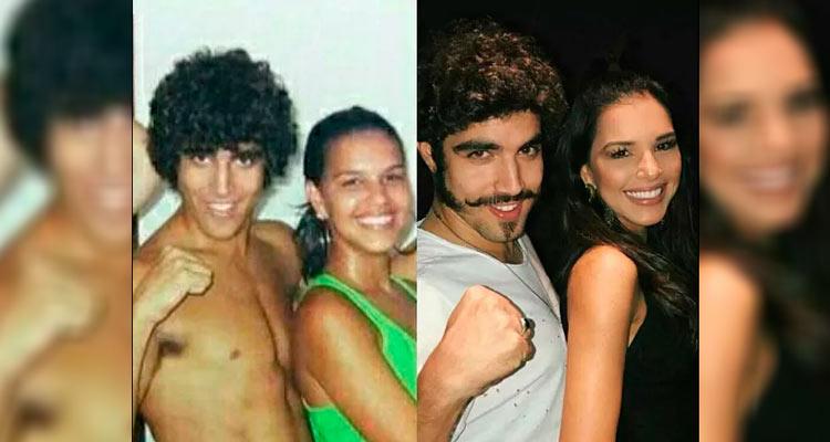 Após muitas críticas, Mariana mudou a legenda da foto – Reprodução