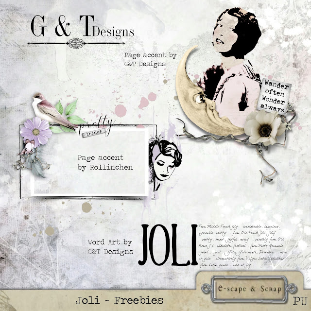 G&T Designs - Joli Kit & Freebies