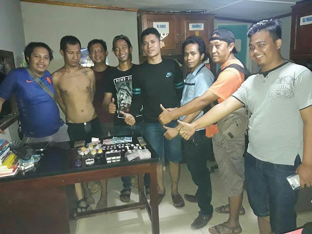 Tim Buser Polsek Gunung Megang Berhasil Ungkap Kasus Narkoba
