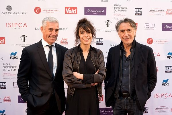 FIFI Awards 2018 - Philippe Ughetto, Président de la Fragrance Foundation France, Adrienne Pauly et Richard Berry - Blog beauté