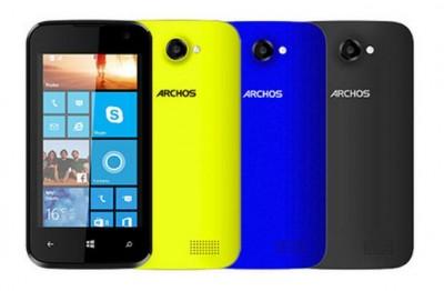 40 Cesium, Smartphone WP Pertama Archos Harga Terjangkau