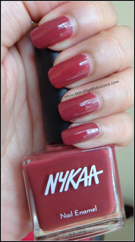 Keep The Pastel Hues With Nykaa Nail Paints.. ( Review & Swatches of ...