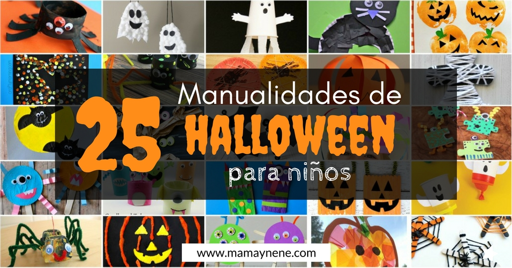 MANUALIDADES-HALLOWEEN-KIDS-PREESCOLAR-MAMAYNENE-CRAFT-KIDS-PRESCHOOL