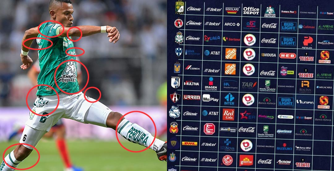 Insane Here Is Which Liga Mx Team Kits Have The Most Kit