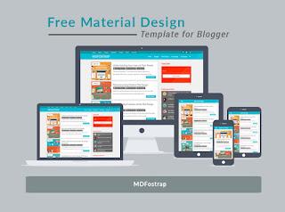 Free template blogger md fostrap