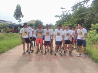 350 Peserta Calon Polri Ikuti Tes Pelatihan