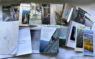 new england rock climbing guidebooks