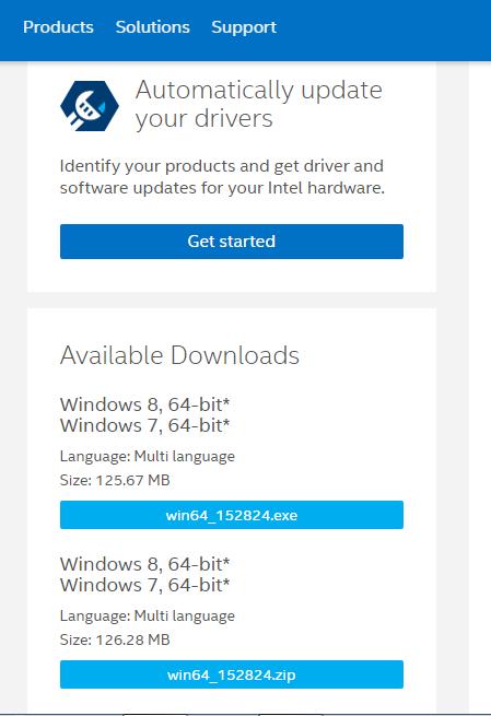 driver vga intel hd windows 7 64 bit
