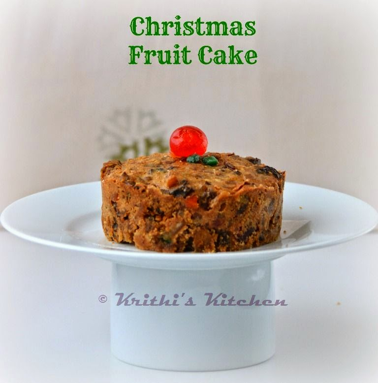 Christmas Fruit Cake No Alcohol Soak Recipes