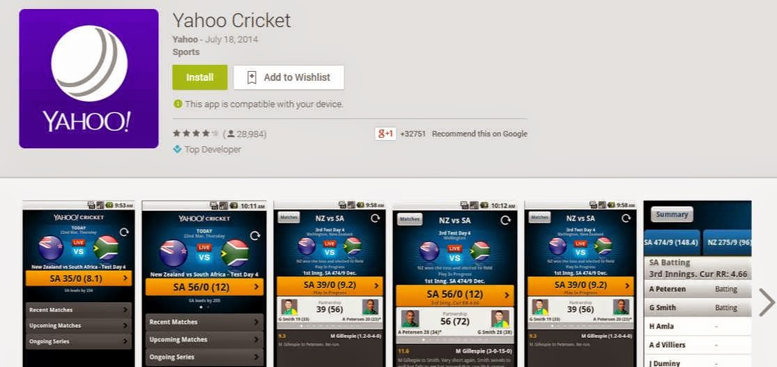 Yahoo-cricket-fast-cricket-updates-on-the-go