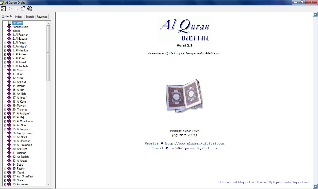 Al mudarris quran software download