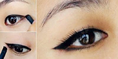 cara-memakai-eye-shadow-cara-memakai-eyeliner-cair-sesuai-bentuk-mata-cara-memakai-eyeliner-pensil-Eyeliner-video-cara-memakai-eyeliner-cair