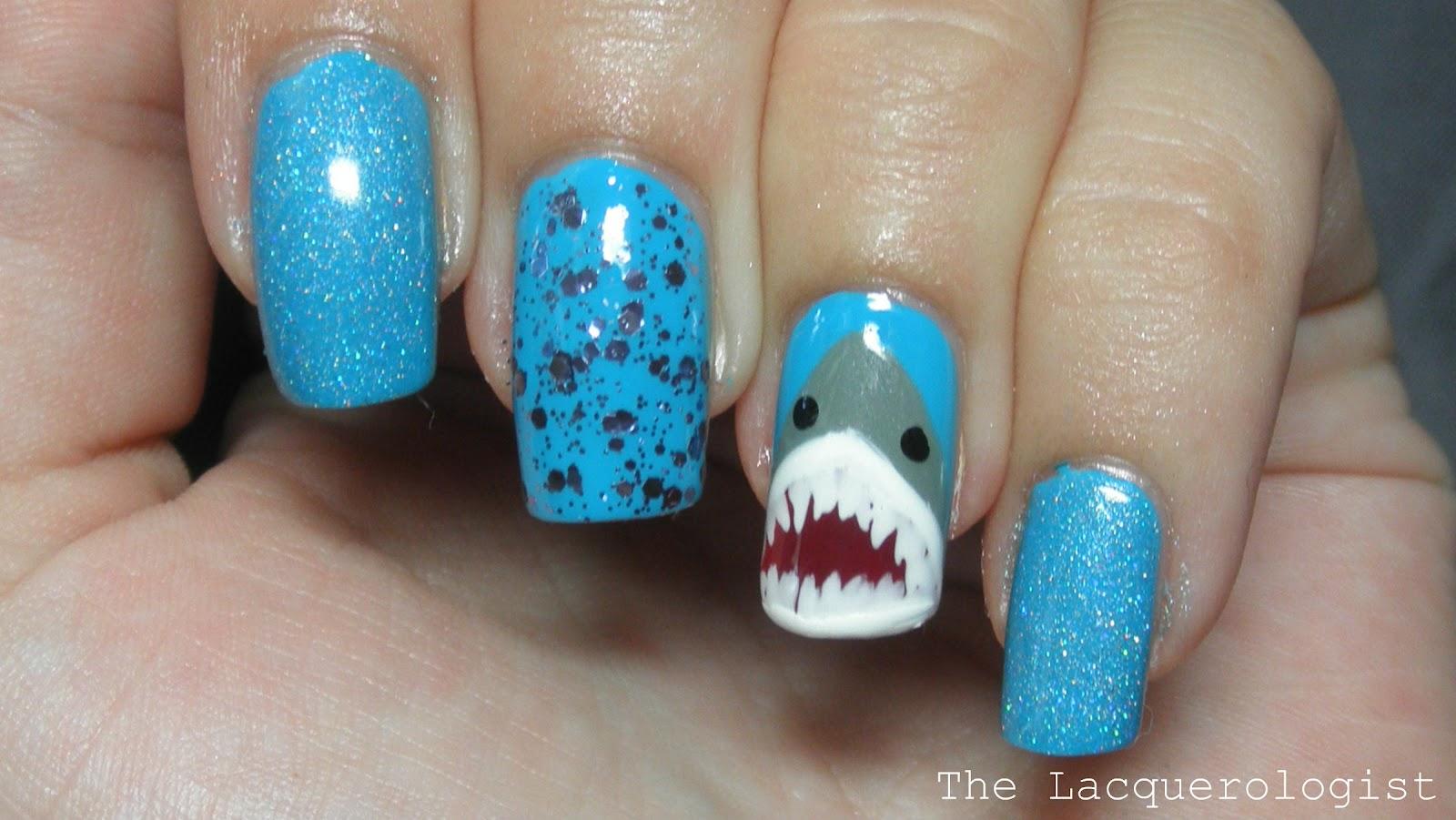SHARK WEEK! • Casual Contrast