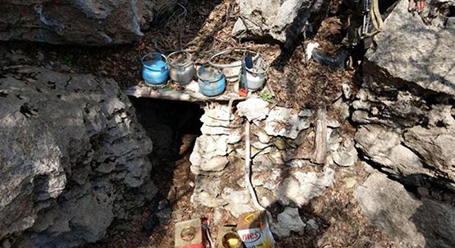 Diyarbakır Dicle'de PKK sığınakları imha edildi