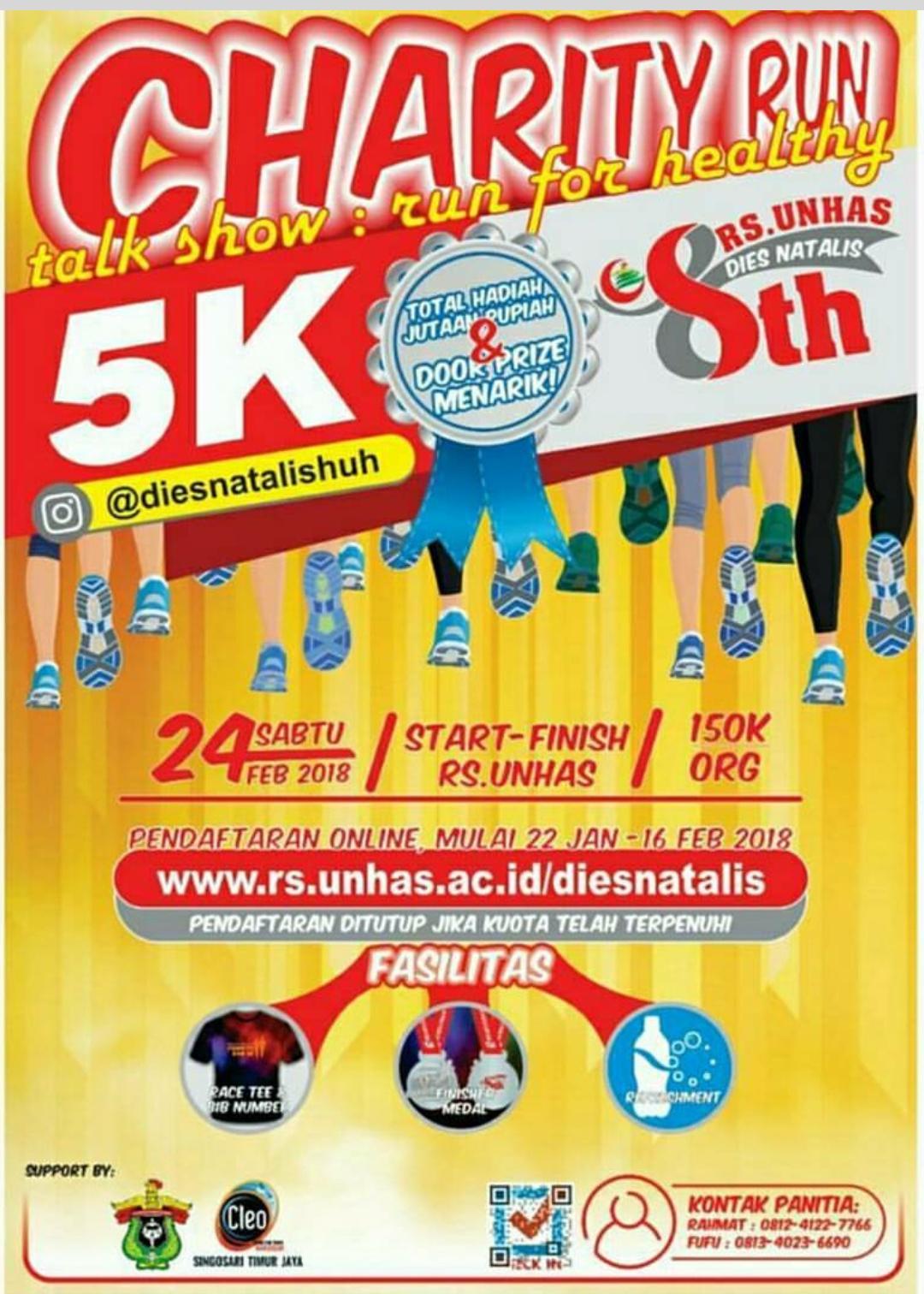 Unhas Charity Run • 2018