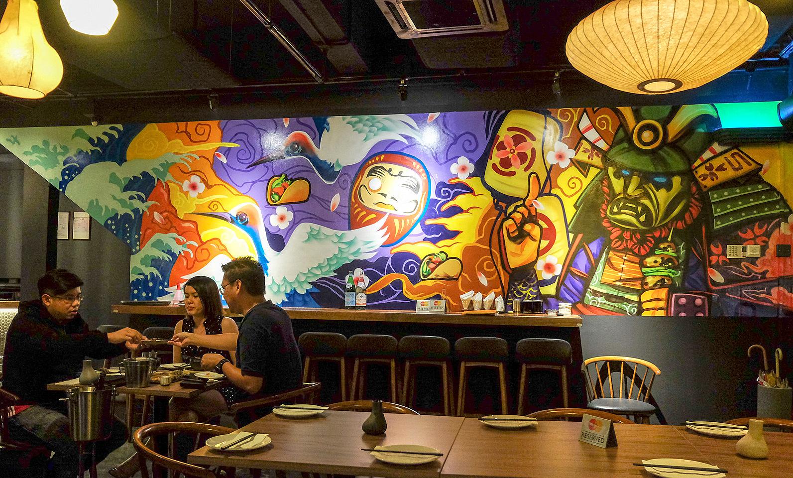 Eat drink kl kouzu taman tun dr ismail for El mural restaurante puebla
