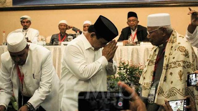 Banyak Ulama Ingin Berada Dalam Tim Pemenangan Prabowo - Sandiaga