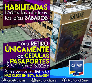 LISTADO SAIME 2018