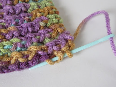 tutorial, crochet, slip stitch, basket pattern