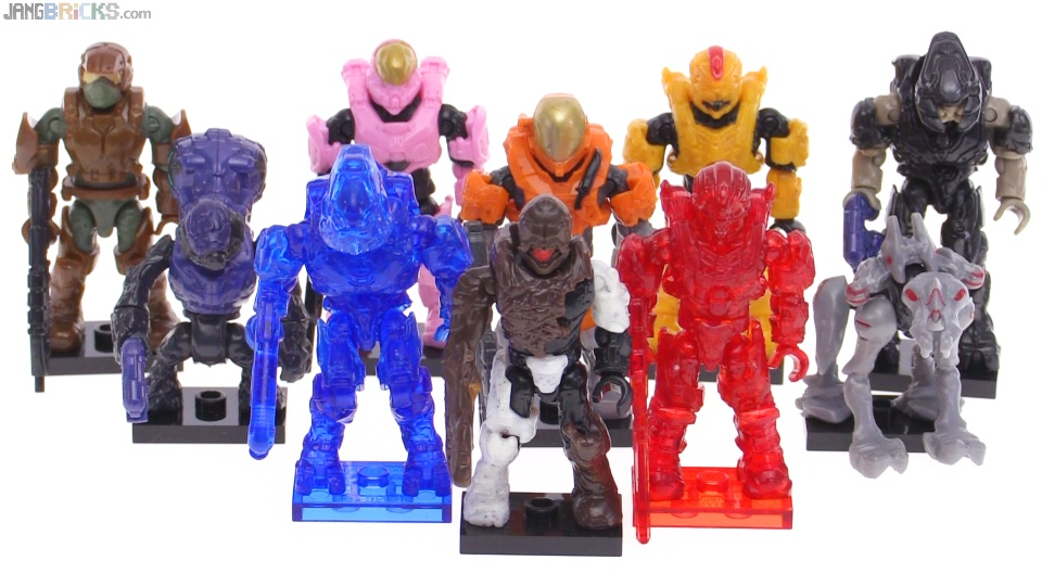 Mega Bloks Halo Delta Series full review + chase figures!