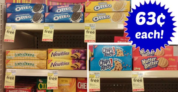 Walgreens Nabisco cookies $.63...