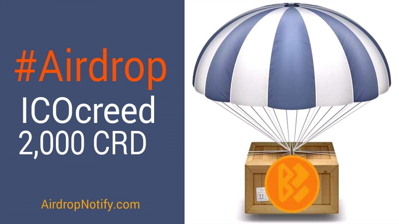 ICOcreed (CRD) Crypto Airdrop Alert  | Free Airdrop Crypto