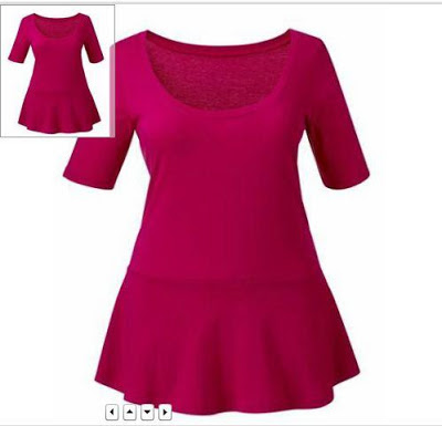 peplum top plus size women