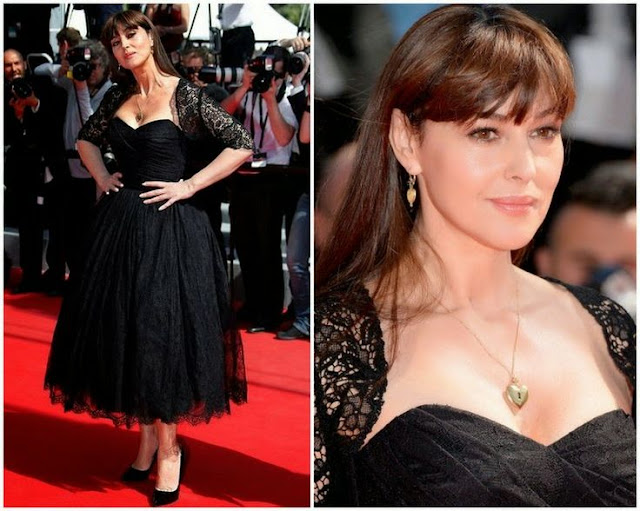 The Wonders Cannes Film Festival Premiere - Monica Bellucci in Dolce and Gabbana