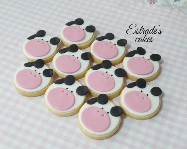 galletas infantiles de vacas  3