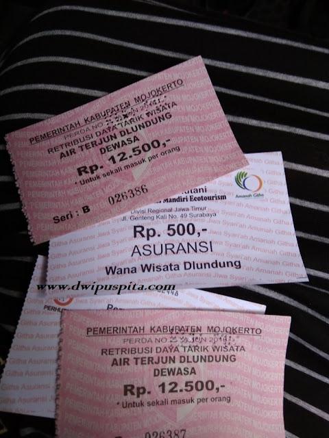 tiket masuk wisata air terjun dlundung