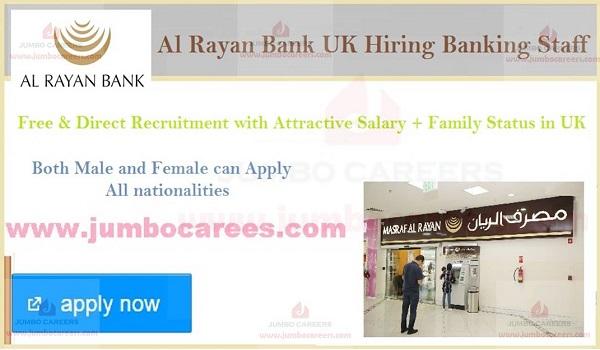 Banking job openings in UK, Bank jobs description in UK,