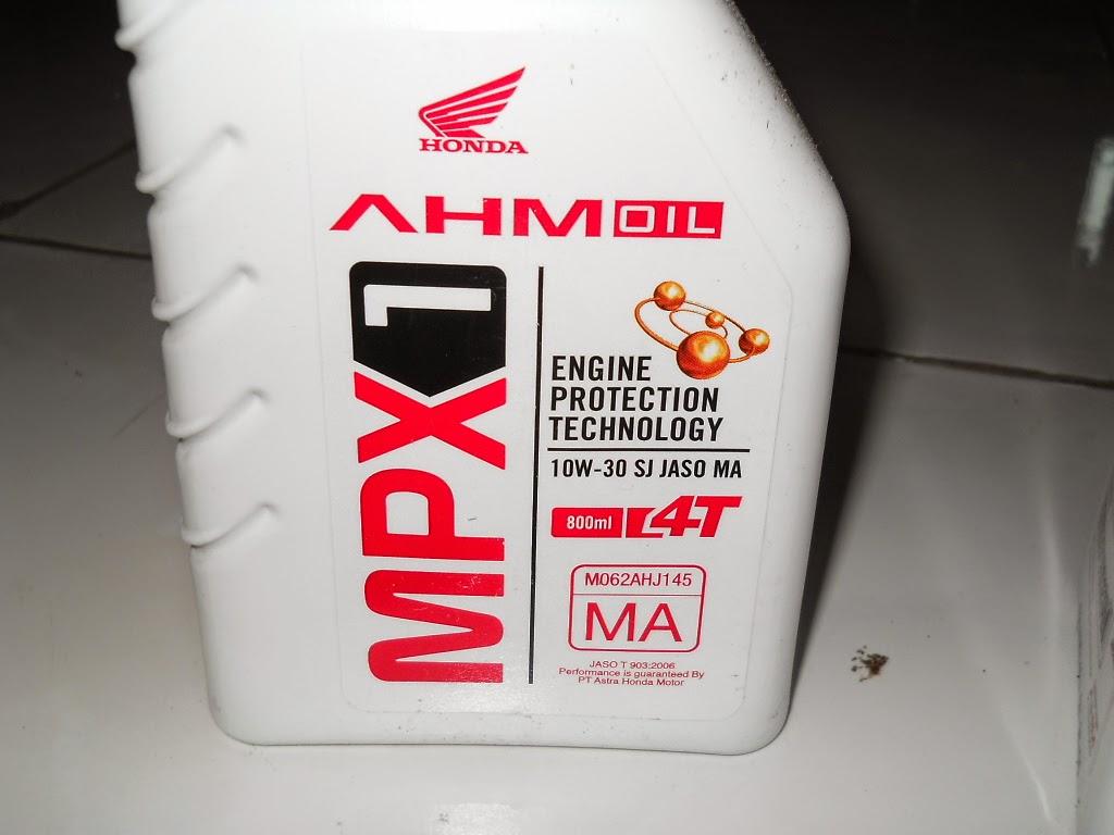 Feel Honda Supra X 125 R Menggunakan Oli AHM MPX 1