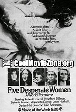 Five Desperate Women (1971)