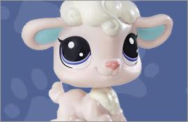 LPS Lamb Figures