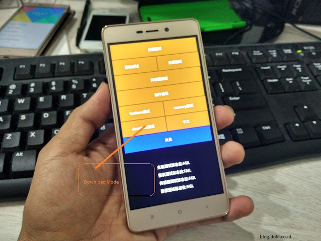 Cara Flash Xiaomi Redmi 3 Via Mi Flash