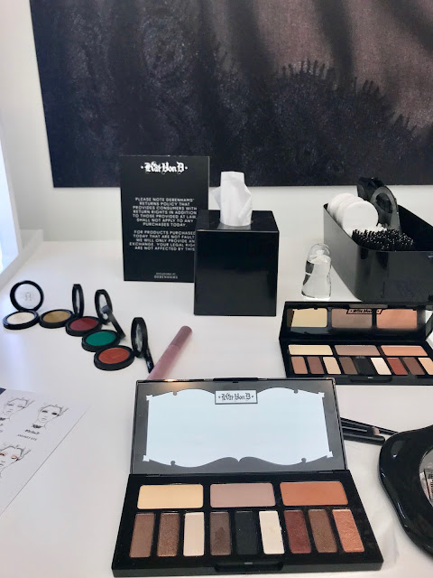 Glamour Beauty Festival 2018 - Kat Von D Eyeshadow Palettes & Demo